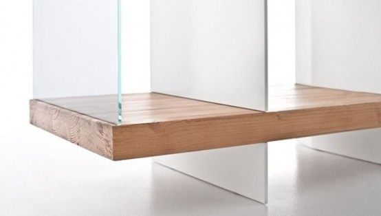 Contrasting Versatile Flap Storage And Coffee Table