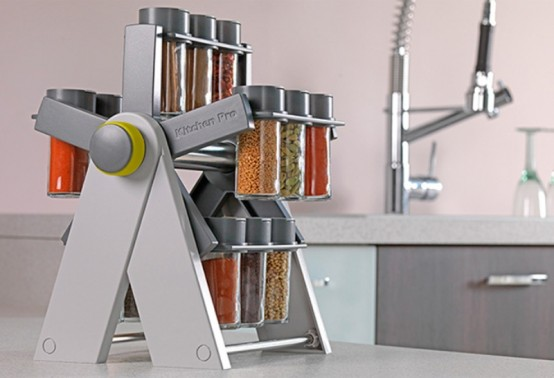 Lovely Convenient Spice Container By Kitchen Pro