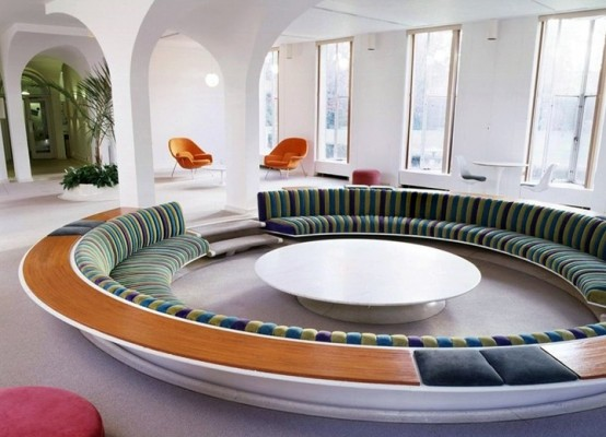 Conversation Pit Comeback Cool Design Ideas