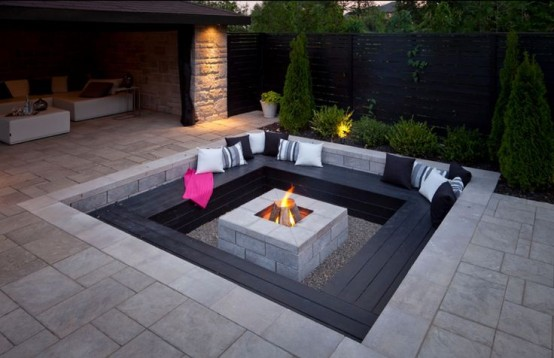 High Quality Conversation Pit Comeback Cool Design Ideas