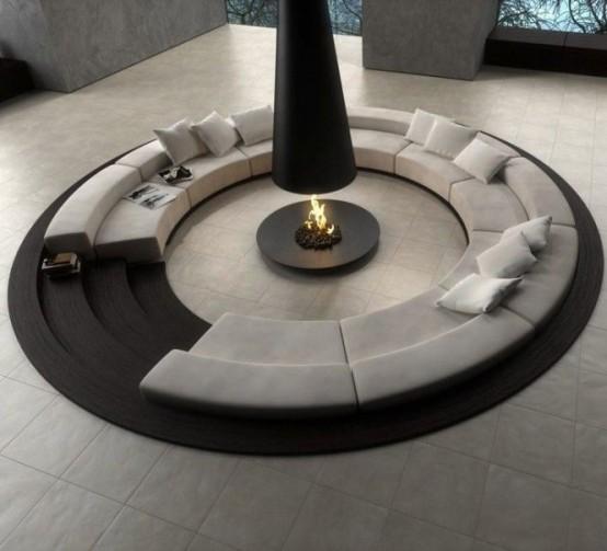 Conversation Pit Comeback Cool Design Ideas