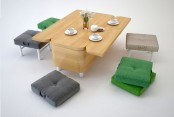 Convertible Sofa That Changes Into A Dining Table