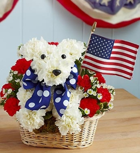 May The 4th Be With You And Also With You: 53 Cool 4th July Centerpieces In National Colors