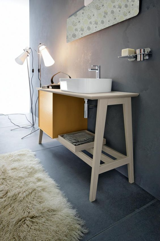 Ordinaire Cool And Creative Sink Stands For Any Bathroom