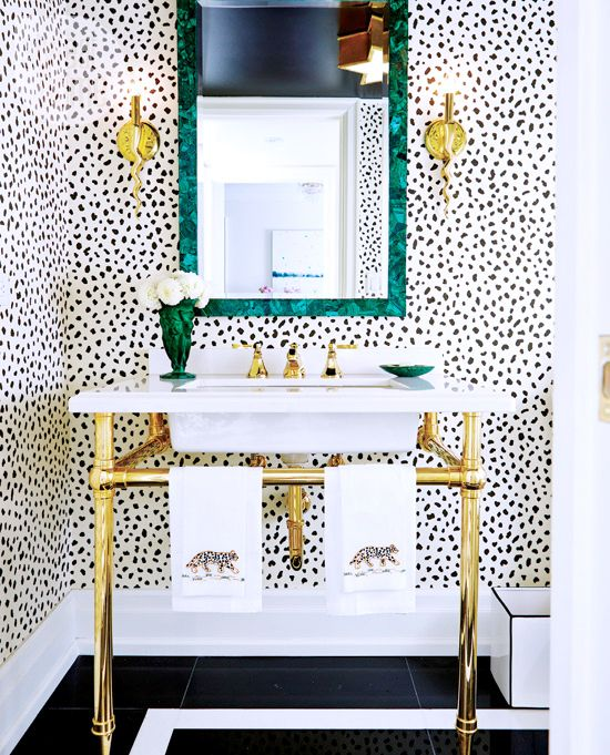 25 cool and creative sink stands for any bathroom digsdigs for Cool bathroom wallpaper