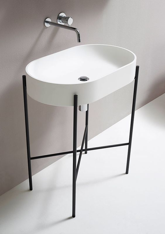 Picture Of cool and creative sink stands for any bathroom  7