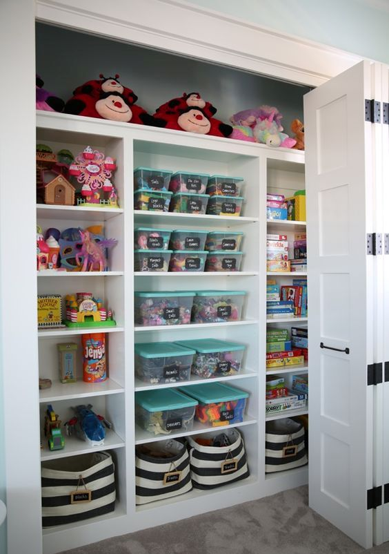 Picture Of cool and easy kids toys organizing ideas  1