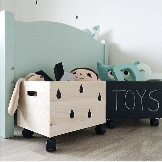 Picture Of cool and easy kids toys organizing ideas  14