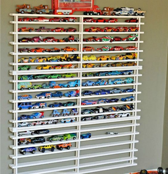 Picture Of cool and easy kids toys organizing ideas  16