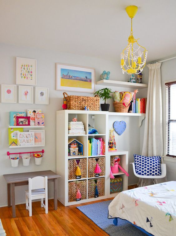 Picture Of cool and easy kids toys organizing ideas  17