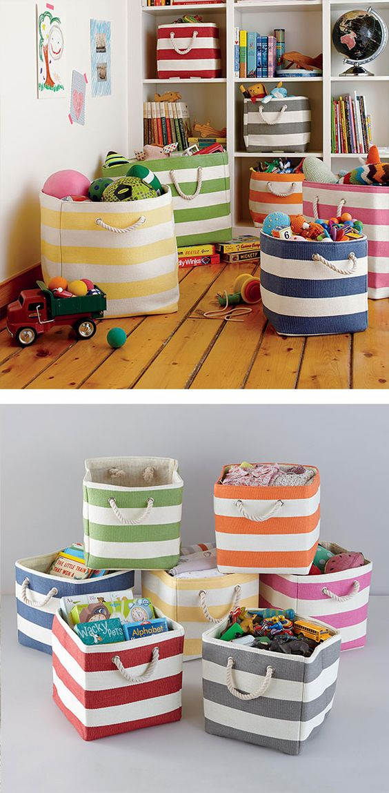 Picture Of cool and easy kids toys organizing ideas  18