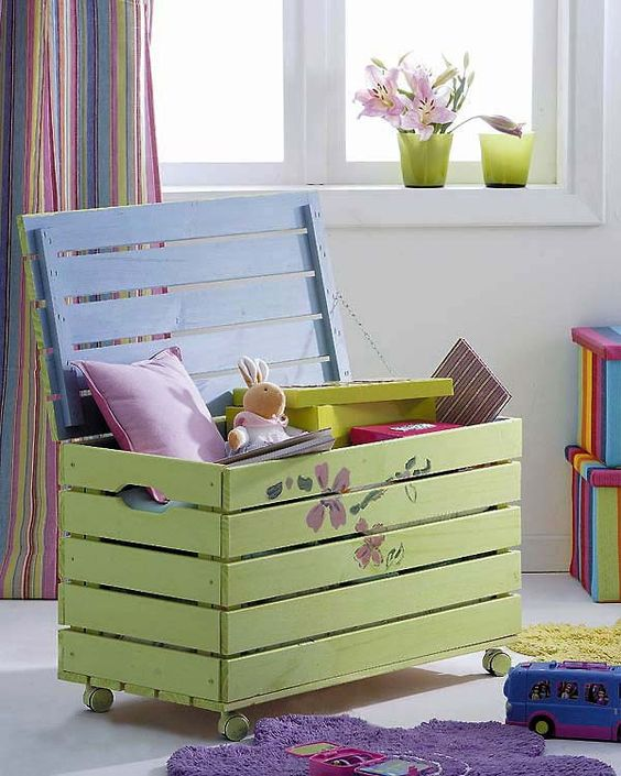 Picture Of cool and easy kids toys organizing ideas  25