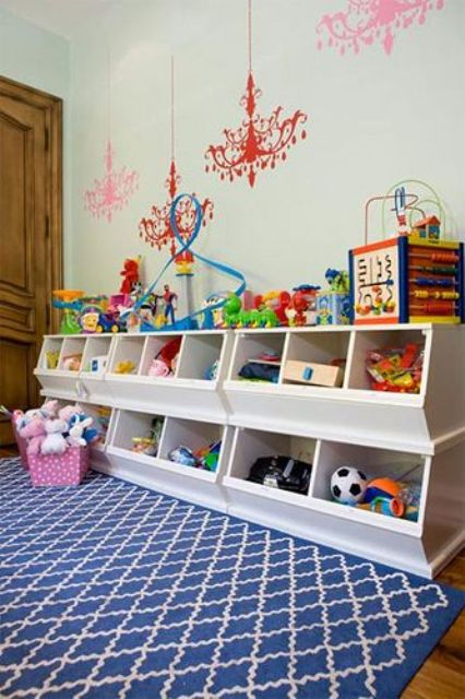 Cool Toy Ideas : Cool and easy kids toys organizing ideas digsdigs