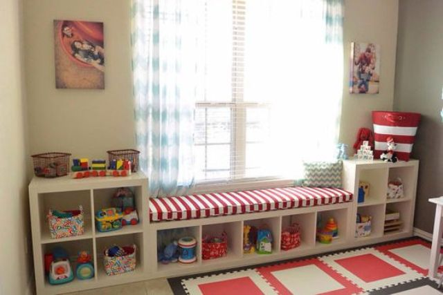 Picture Of cool and easy kids toys organizing ideas  31