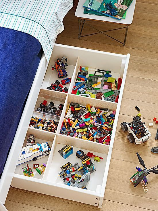 Picture Of cool and easy kids toys organizing ideas  38