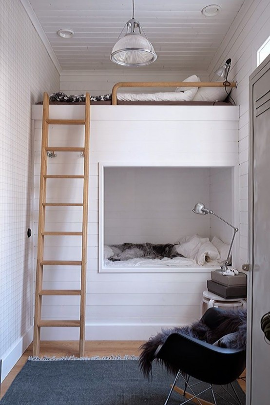 26 Cool And Functional Built In Bunk Beds For Kids
