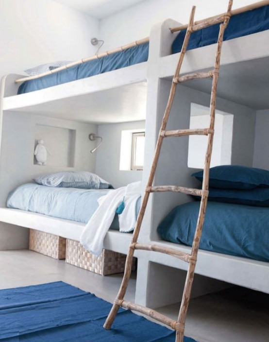 New Cool And Functional Built In Bunk Beds For Kids