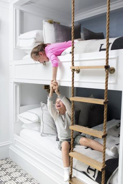 Best Cool And Functional Built In Bunk Beds For Kids