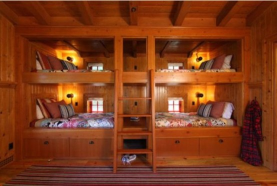 Cool And Practical Bunk Beds For More Than Two Kids
