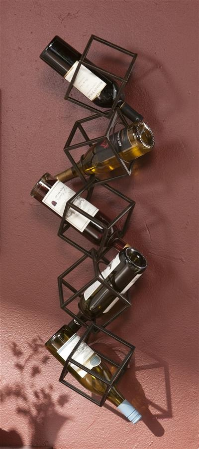 a quirky metal cube vertical shelving unit will be not only a storage unit but also part of decor of your kitchen