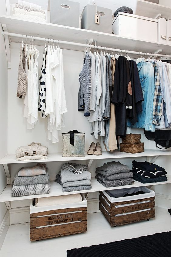 Picture Of cool and smart ideas to organize your closet  13