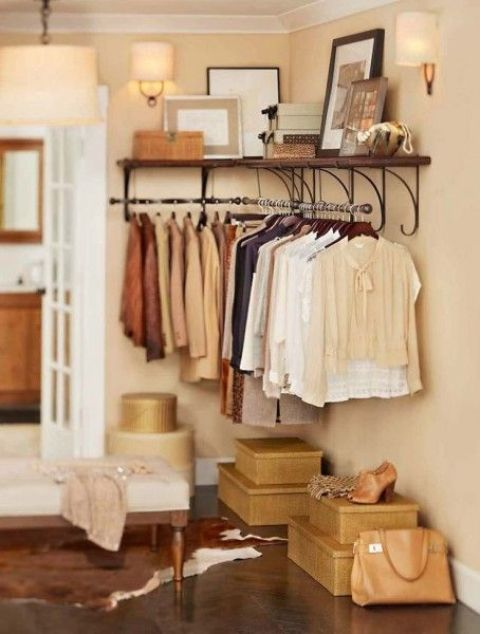 Picture Of cool and smart ideas to organize your closet  14