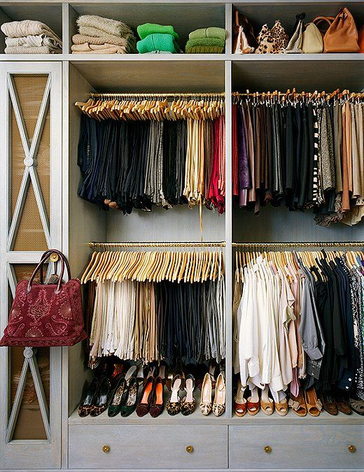 Picture Of cool and smart ideas to organize your closet  17