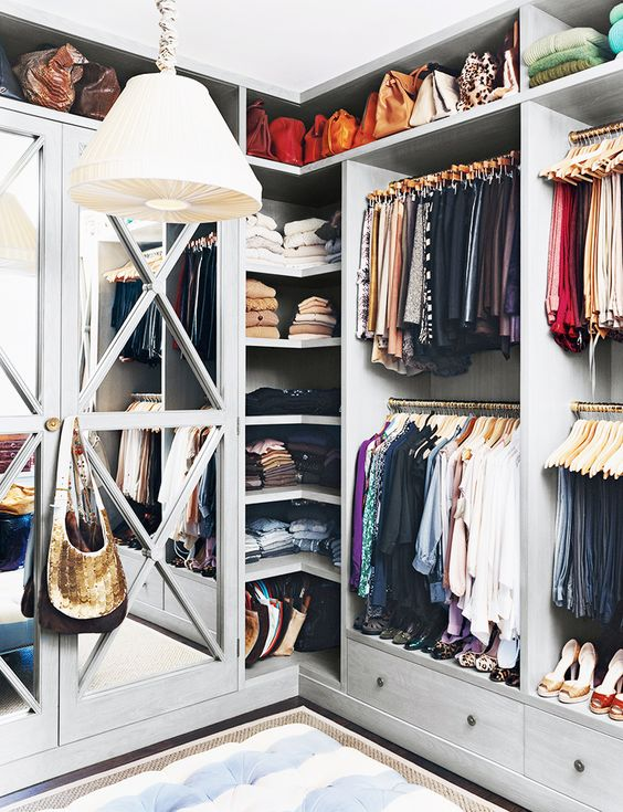 Picture Of cool and smart ideas to organize your closet  19