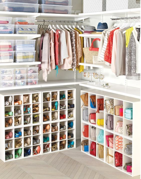 Picture Of cool and smart ideas to organize your closet  2
