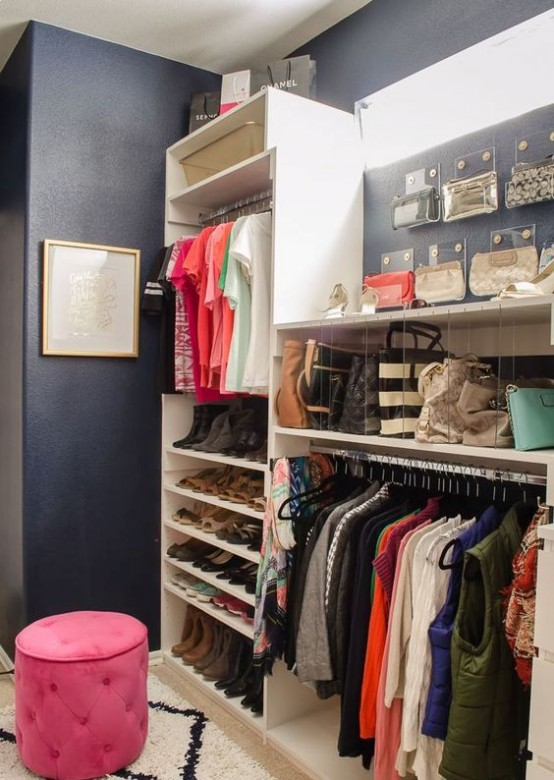 Kids Walk In Closet Storage