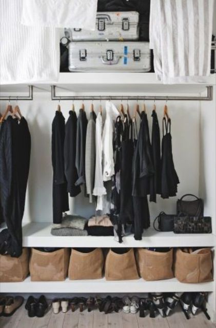 Picture Of cool and smart ideas to organize your closet  30