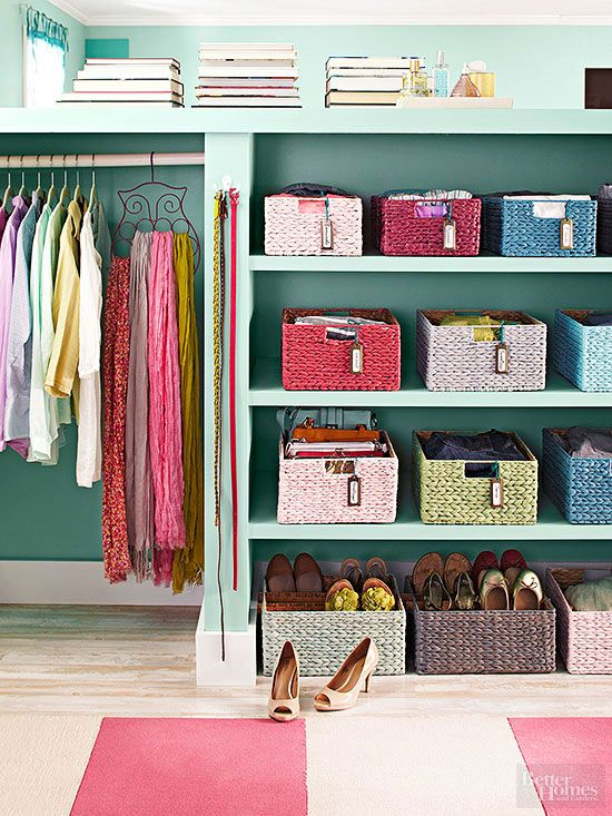 Picture Of cool and smart ideas to organize your closet  32