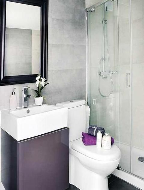 26 cool and stylish small bathroom design ideas digsdigs for Bathroom design 5m2