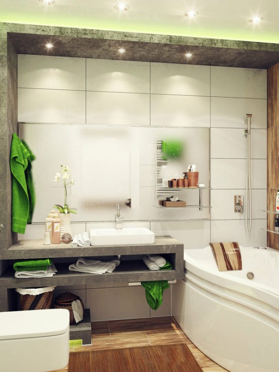 Unique Cool And Stylish Small Bathroom Design Ideas