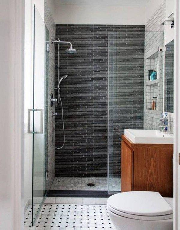 . 54 Cool And Stylish Small Bathroom Design Ideas