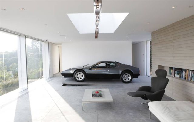 10 the most cool and wacky garages ever digsdigs for Top 50 luxury car interior designs
