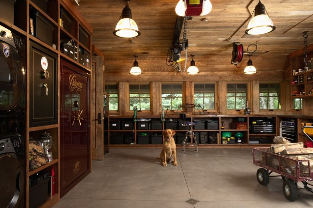 Rustic Garage Man Cave Ideas : The most cool and wacky garages ever digsdigs