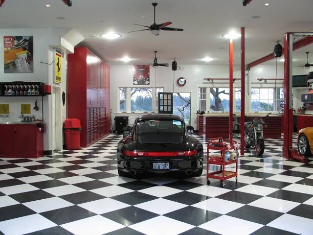 10 the most cool and wacky garages ever digsdigs for Garage designs with living space