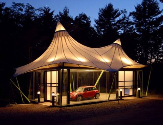 Cool And Wacky Garages