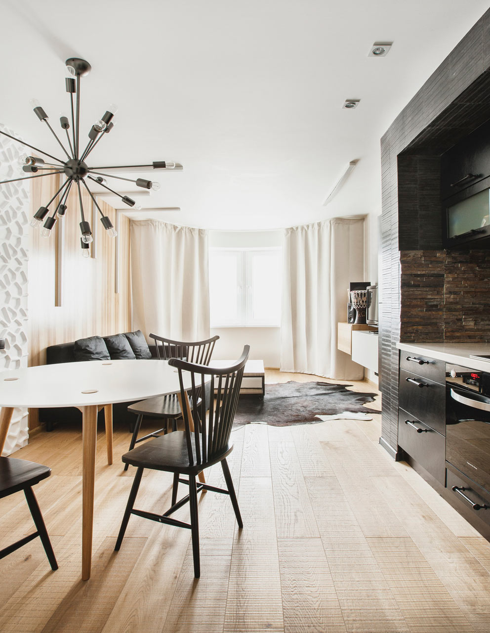 Picture Of cool apartment with interiors inspired by travels to africa  1