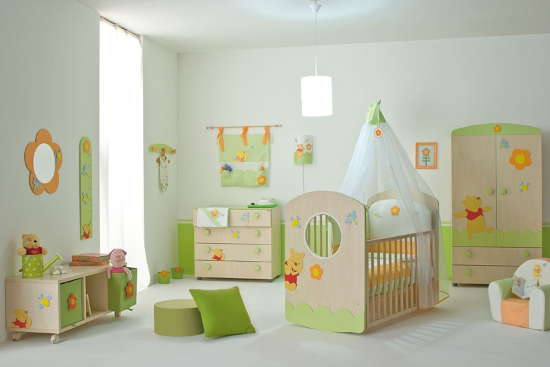Cool Baby Nursery Rooms Inspired by Winnie the Pooh