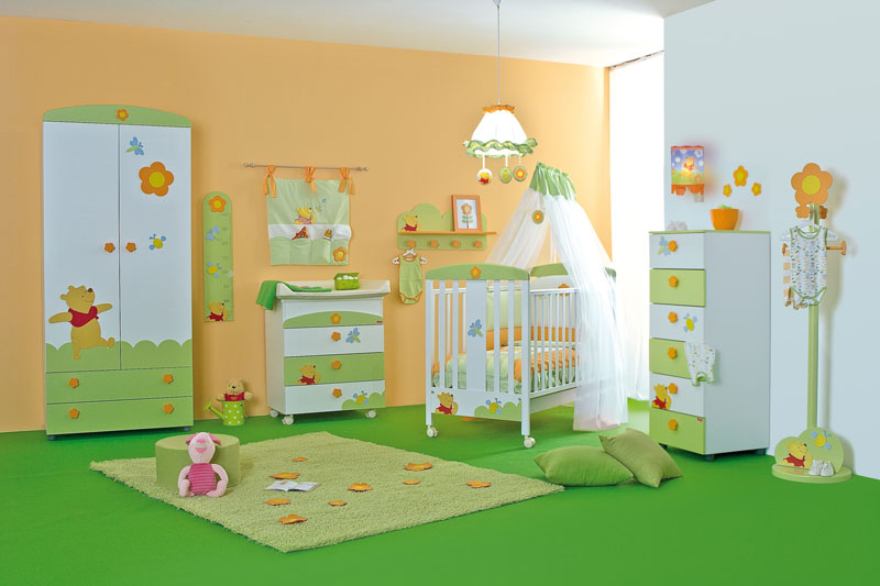 Cool baby nursery rooms inspired by winnie the pooh digsdigs - Baby nursey ideas ...