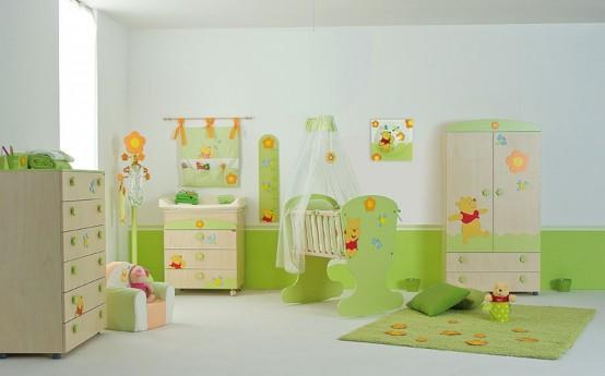Cool Baby Nursery Room Winnie The Pooh