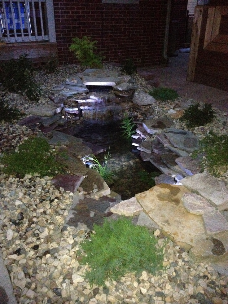 53 cool backyard pond design ideas digsdigs for Mini fish pond design