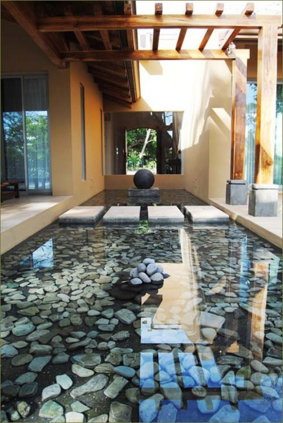 67 cool backyard pond design ideas digsdigs for Koi pond builders near me