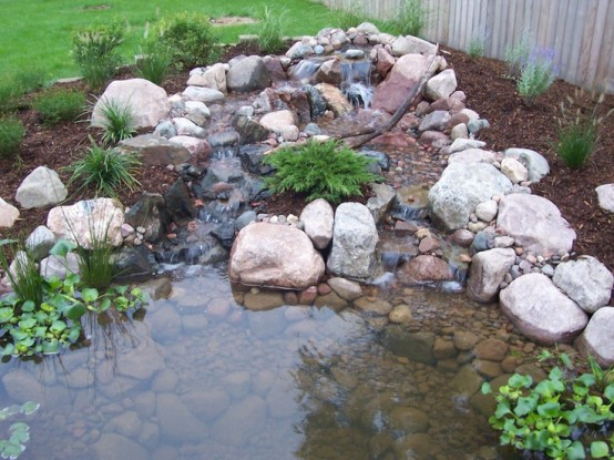 Cool Backyard Ponds