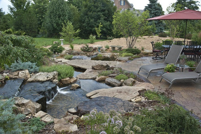 The Gallery For Backyard Fish Ponds Designs