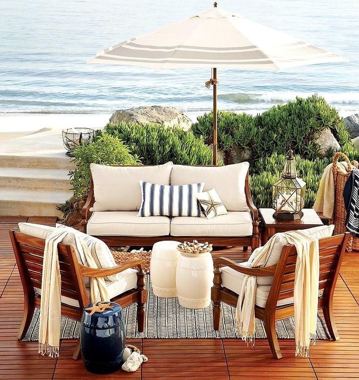 Cool Beach And Beach Inspired Patios