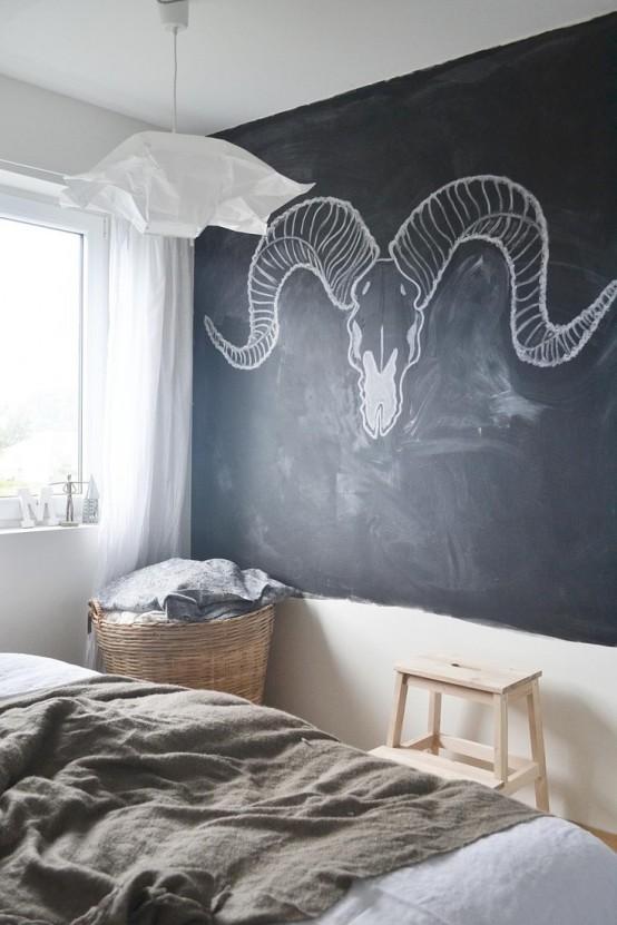 25 Cool Chalkboard Bedroom Décor Ideas To Rock