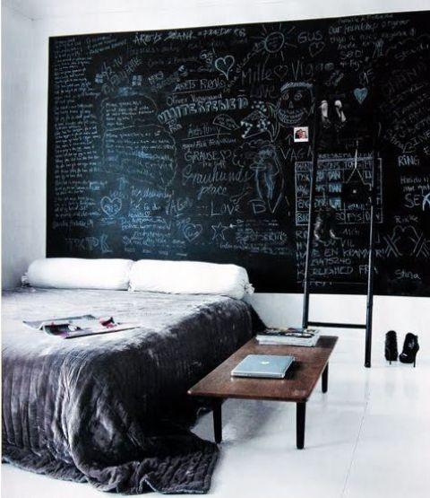 Cool Chalkboard Bedroom Decor Ideas To Rock